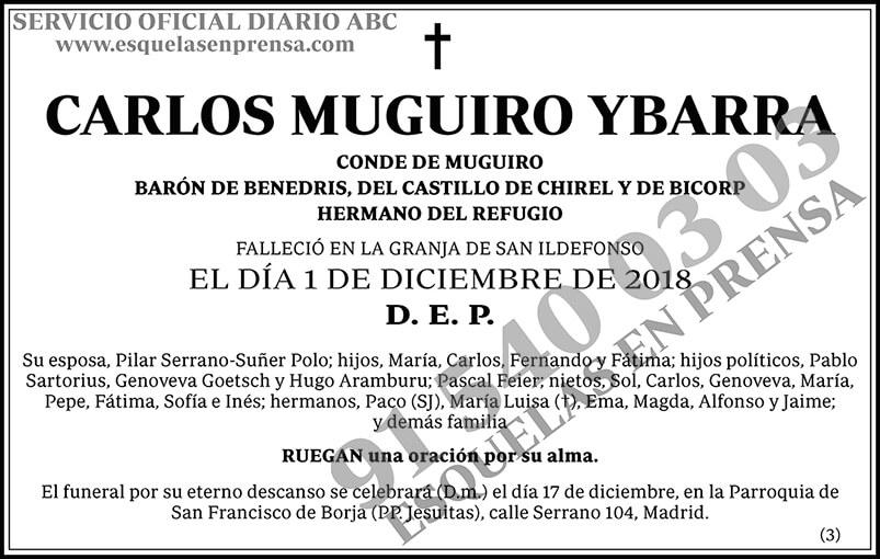 Carlos Muguiro Ybarra